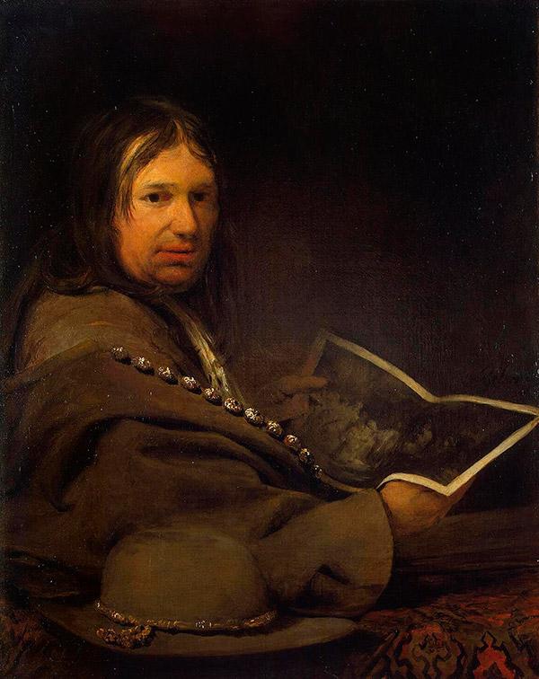 Арент де Гелдер (Arent de Gelder) автопортрет, 1700