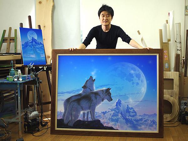 Кентаро Нишино (Kentaro Nishino (西野健太郎) - художник