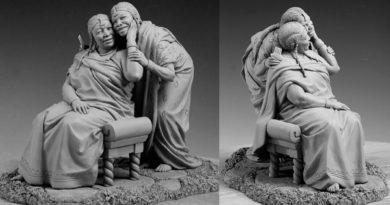Марк Ньюман (Mark Newman) – скульптор