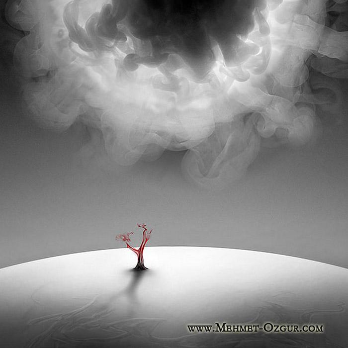 Мехмет Озгур (Mehmet Ozgur) - фотохудожник. Серия SmokeWorks