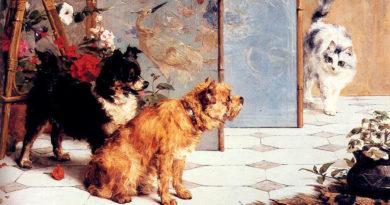 ЧарльзванденЭикен (CharlesvandenEycken) – художник