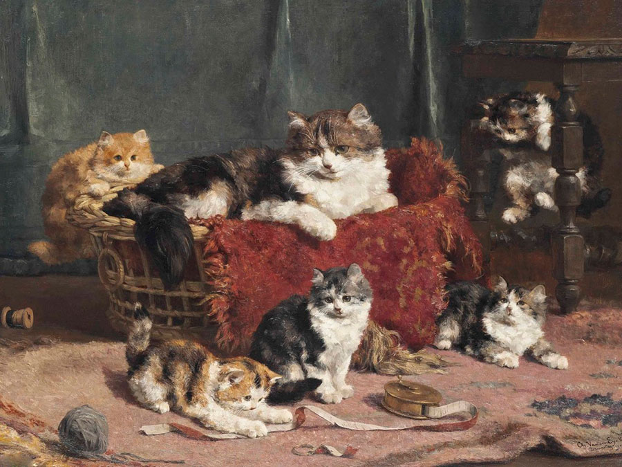 ЧарльзванденЭикен (Charles van den Eycken) – художник