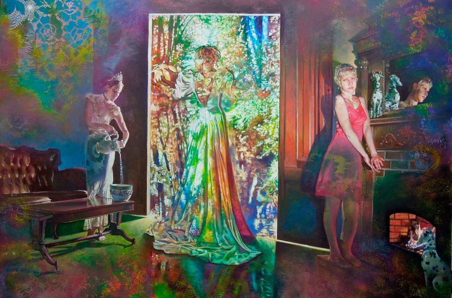 Синда Валле (Cynda Valle) – художник