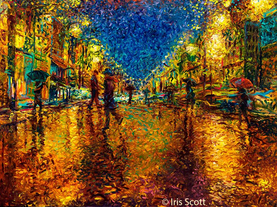 Айрис Скотт(Iris Scott) – художник