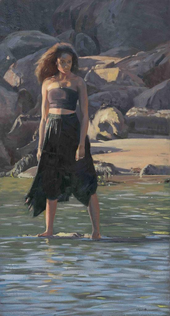 Кирон Вильямсон (Kieron Williamson) – художник. под золотыми лучами солнца, 2020