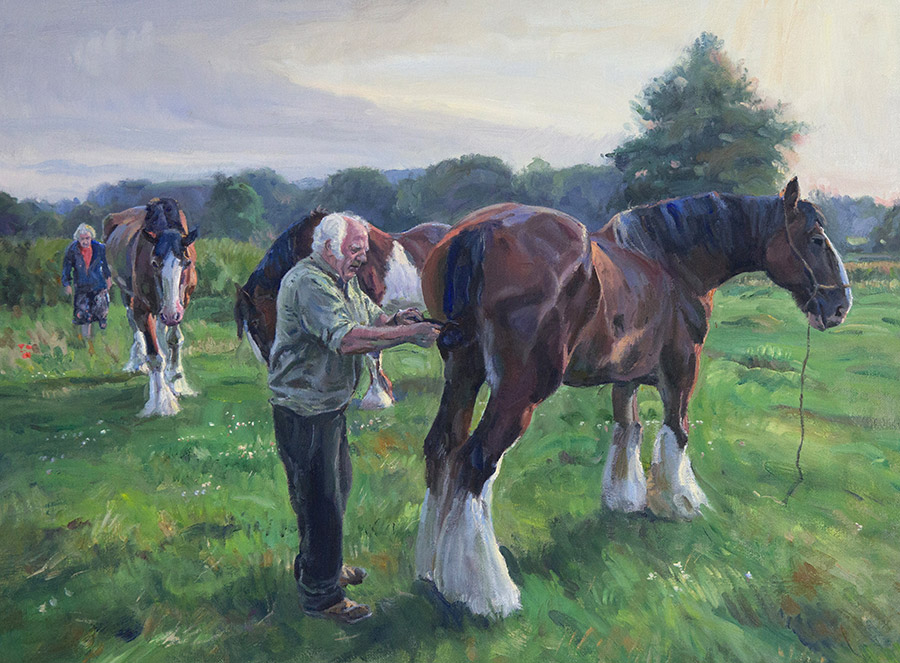 Кирон Вильямсон (Kieron Williamson) – художник the ploughman's knot, 2018