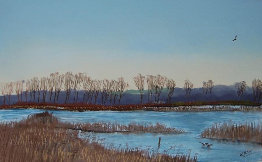 Кирон Вильямсон (Kieron Williamson) – художник. Пейзаж Бродленд, 2010