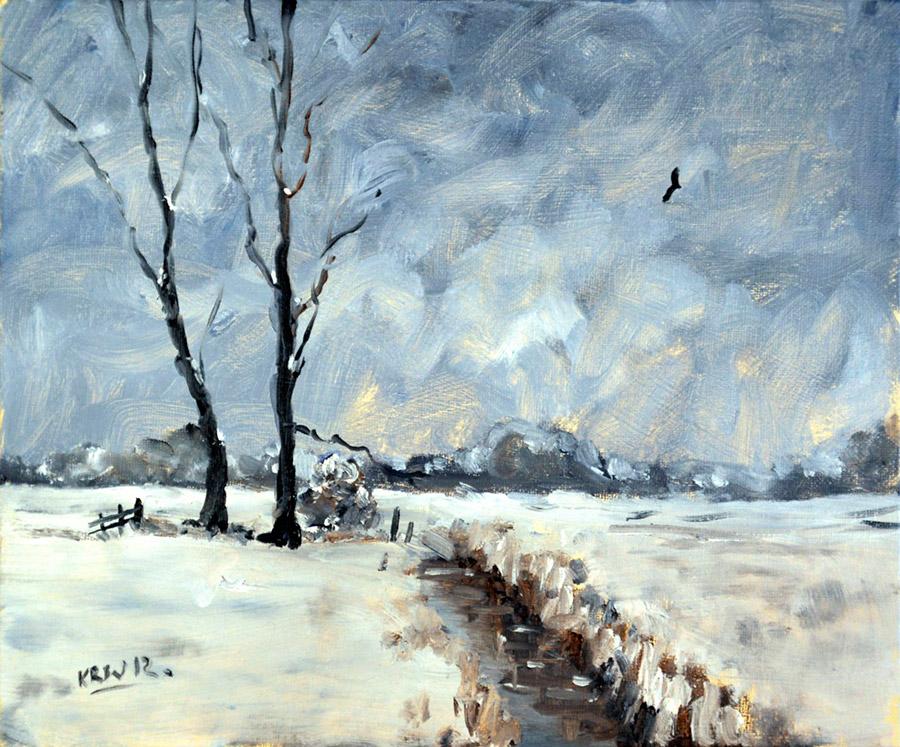 Снег в сумерках, 2012
