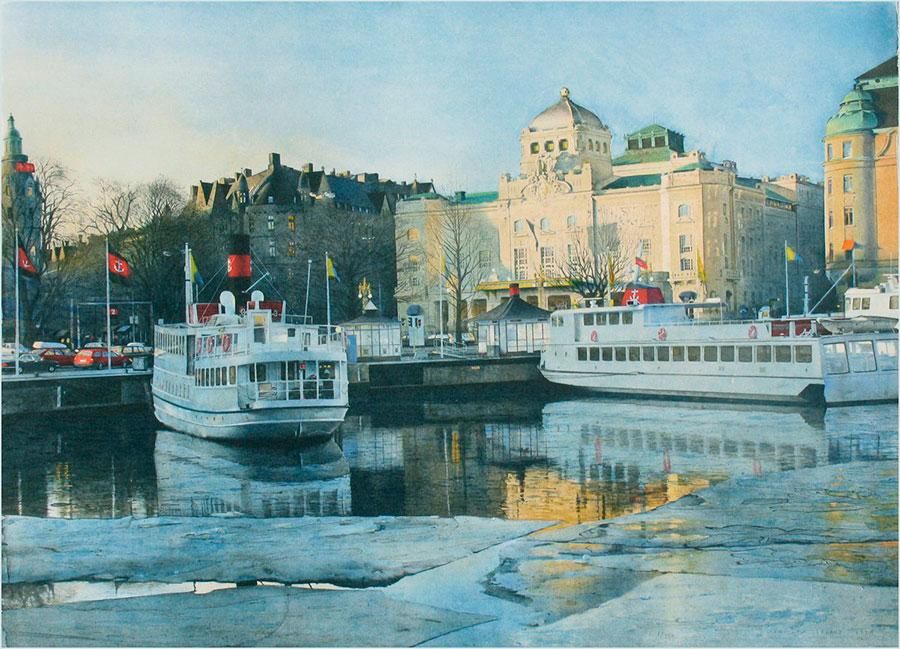 Станислав Золядз (Stanislaw Zoladz) — художник-акварелист