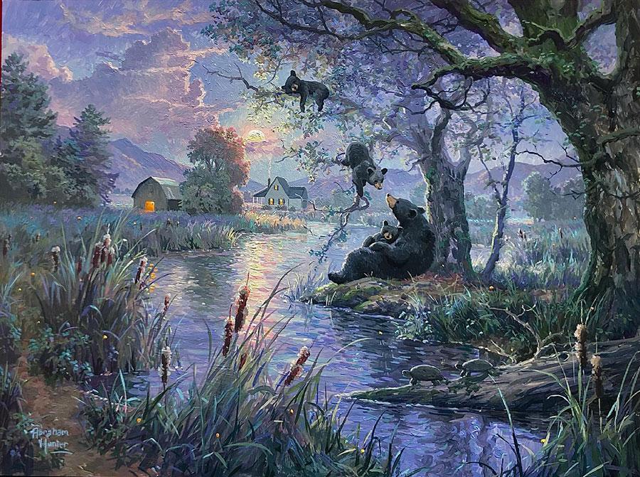 Авраам Хантер (Abraham Hunter) - художник