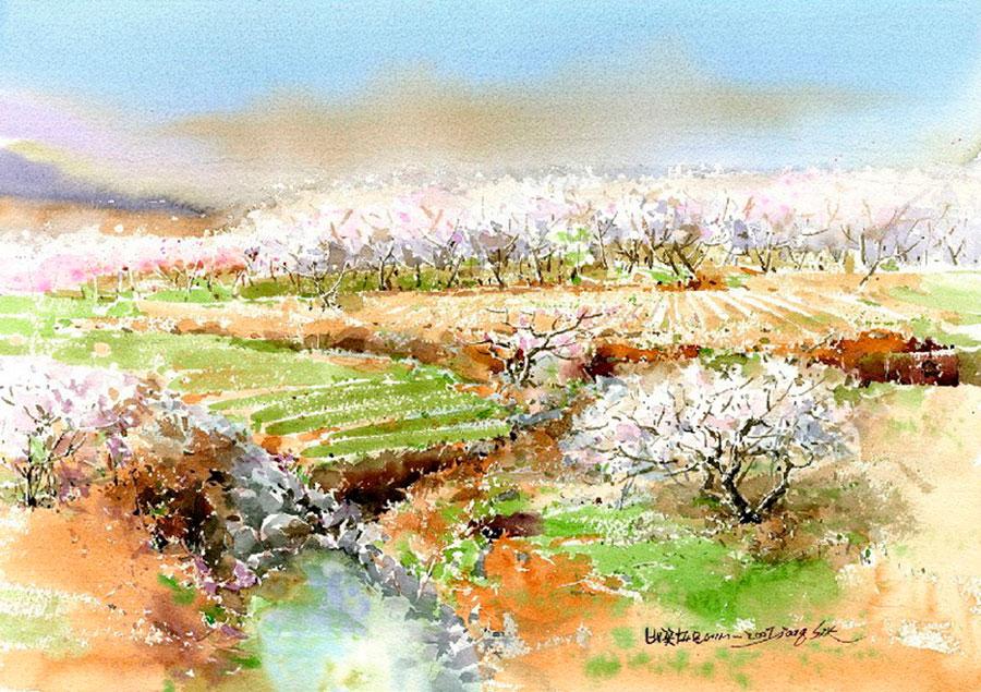 Шин Чен Сик (Shin Jong Sik) – художник