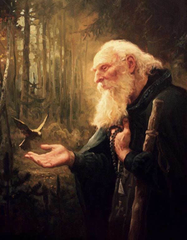 Андрей Шишкин (Andrey Shishkin) - художник, Святой, 2009