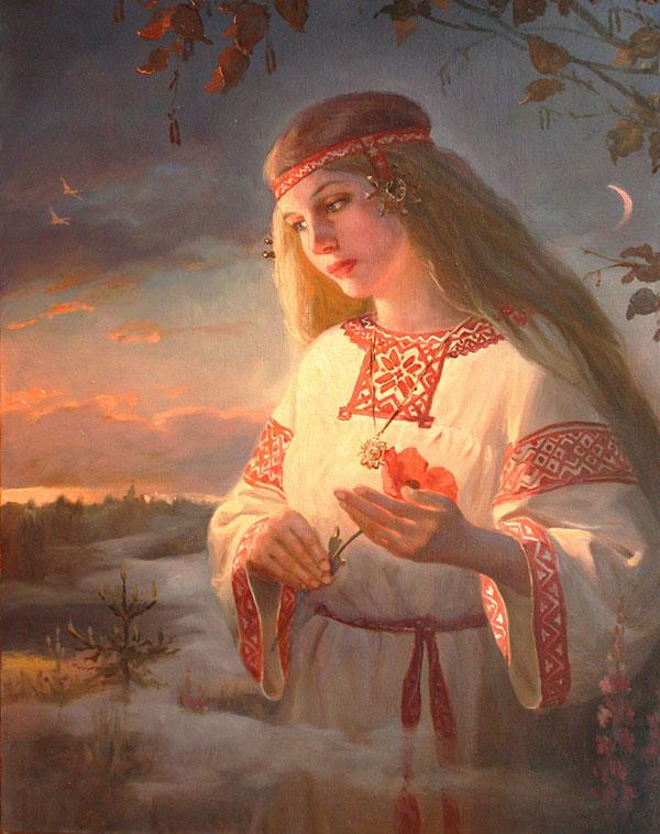 Андрей Шишкин (Andrey Shishkin) - художник, Заря-Зареница, 2013