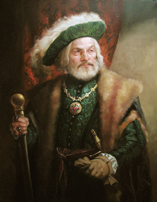 Андрей Шишкин (Andrey Shishkin) - художник, Дворянин, 2008