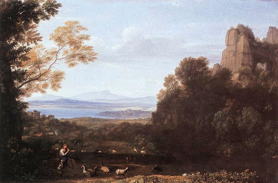 Клод Лоррен (Claude Lorrain) -  Juno Confiding Io to the Care of Argus, 1660