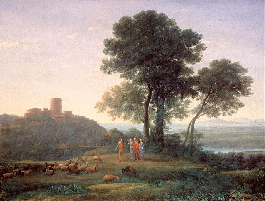 Клод Лоррен (Claude Lorrain) - Jacob with Laban and his Daughters, 1676