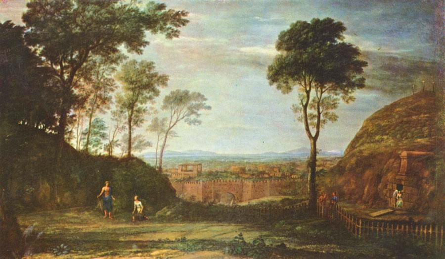 Клод Лоррен (Claude Lorrain) - Пасхальное утро, 1681