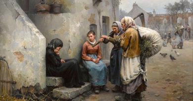Daniel Ridgway Knight, Oil on Canvas, 1882