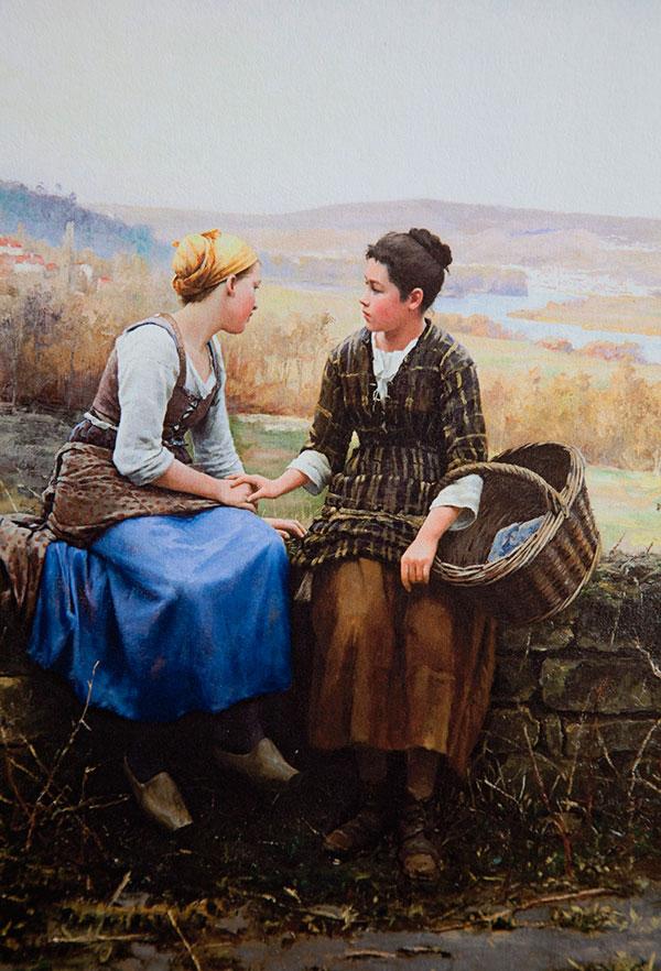 Первое горе (Le Premier Chagrin), 1892