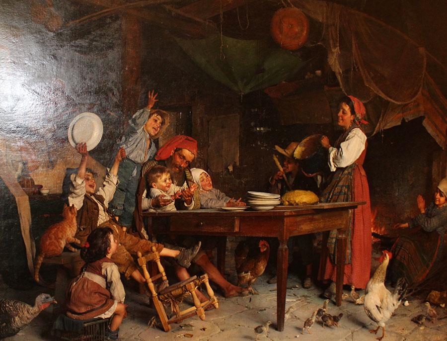 Гаэтано Чиерици (Gaetano Chierici), Пудинг на скорую руку (1883)