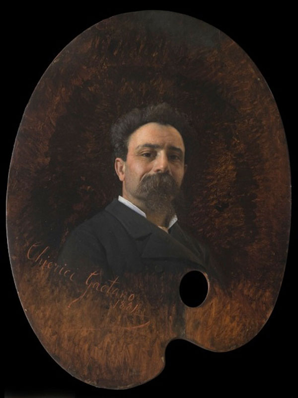 Гаэтано Чиерици (Gaetano Chierici) автопортрет, 1881
