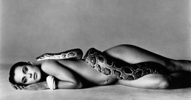 Ричард Аведон (Richard Avedon) — знаменитый фотограф, Настасья Кински, актриса, Лос-Анджелес, 14 июня 1981