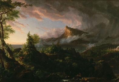 "Из серии ""Путь империи"", Cole Thomas The Course of Empire The Savage State, 1836 Путь империи Первобытное состояние, 1834-1836"